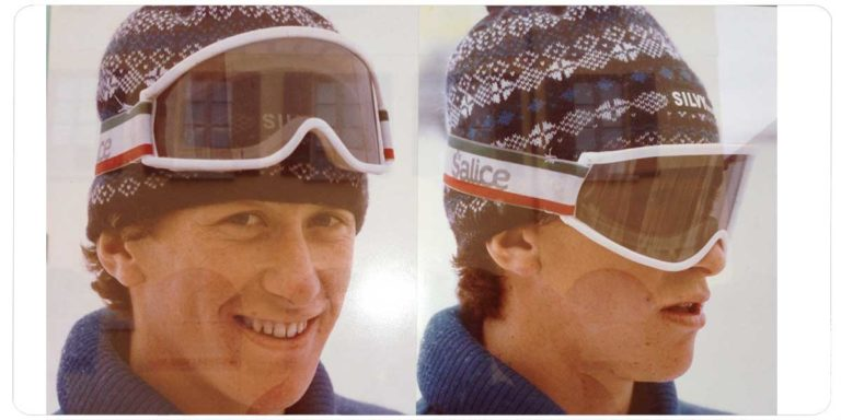 1960-69 In these years, snow sports start to become popular and Salice, always projected towards the future, anticipates the times again by starting the production of ski goggles.
